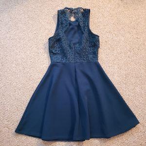 Blue Francesca's Lace Dress